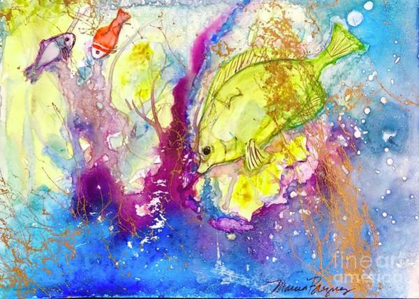 Painting - Under The Sea by Marcia Breznay
