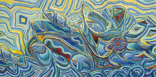 Painting - Under The Sea by Ritchie Eyma