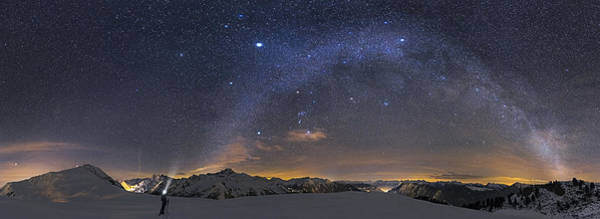 Lamp Wall Art - Photograph - Under The Starbow by Dr. Nicholas Roemmelt