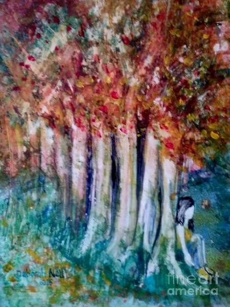 Painting - Under The Trees by Deborah Nell