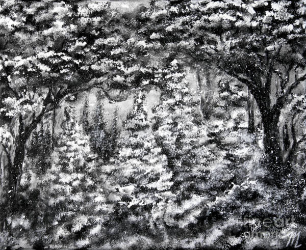 Painting - Under The Trees by Tim Musick