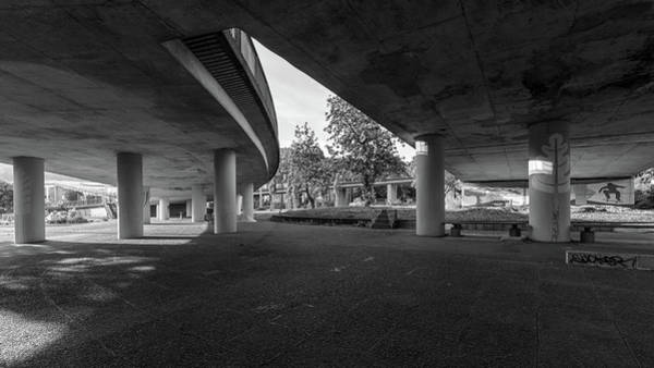 Photograph - Under The Viaduct D Urban View by Jacek Wojnarowski