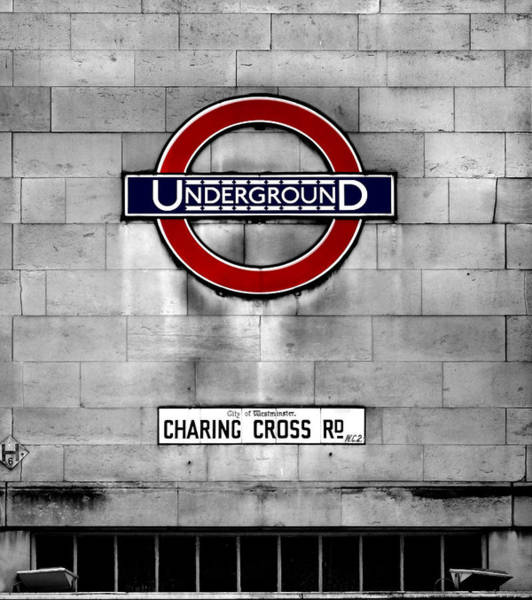 Underground Photograph - Underground by Mark Rogan