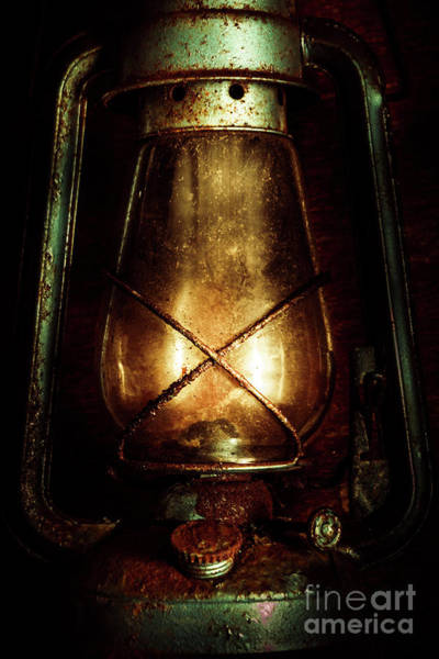 Gas Photograph - Underground Mining Lamp  by Jorgo Photography - Wall Art Gallery