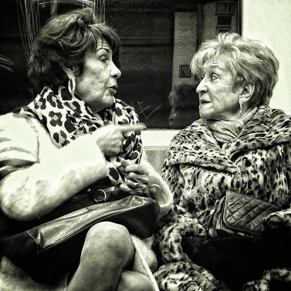 Portrait Photograph - Underground Wild Ladies #women #ladies by Rafa Rivas