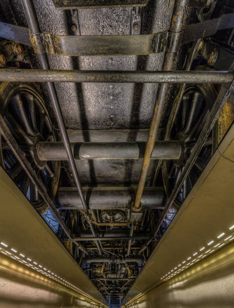 Photograph - Underneath A Steam Train by Clare Bambers