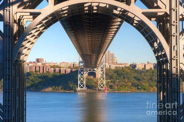 Photograph - Underneath The George Washington Bridge I by Clarence Holmes