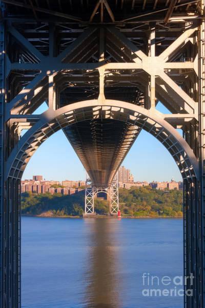 Photograph - Underneath The George Washington Bridge II by Clarence Holmes