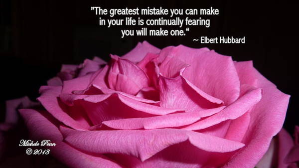 Photograph - Understanding Hope With Quote By Elbert Hubbard by Michele Penn