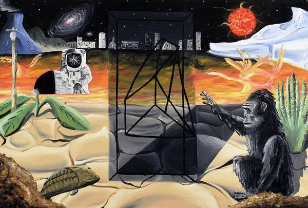Painting - Understanding Time by Ryan Demaree