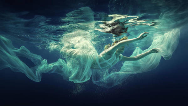 Photograph - Underwater Fairy Tale by Dmitry Laudin