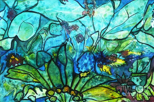 Painting - Underwater Fantasy by Marilyn Brooks