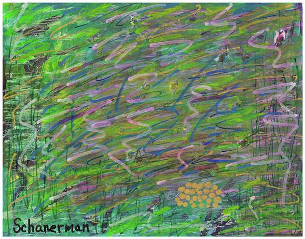 Painting - Underwater Fantasy by Susan Schanerman
