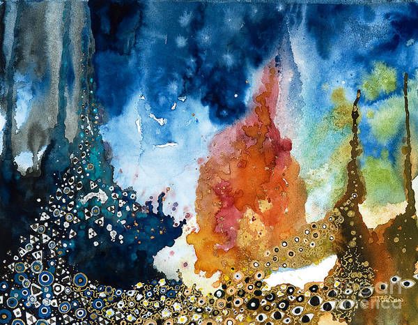 Eyeballs Painting - Underwater Fantasy by Tara Thelen - Printscapes
