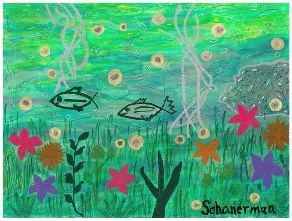 Painting - Underwater Garden by Susan Schanerman