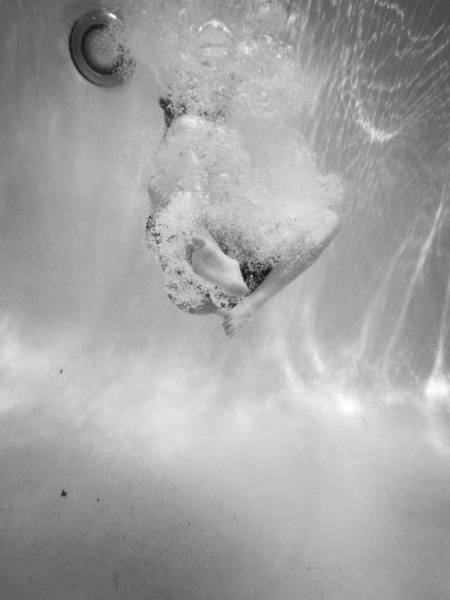 Photograph - Underwater Series - Canon Ball Dive by Kelly Hazel