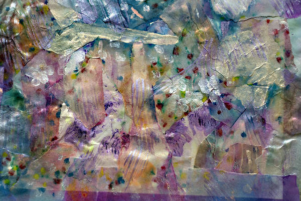 Emanate Painting - Underwater Wildflowers by Don  Wright