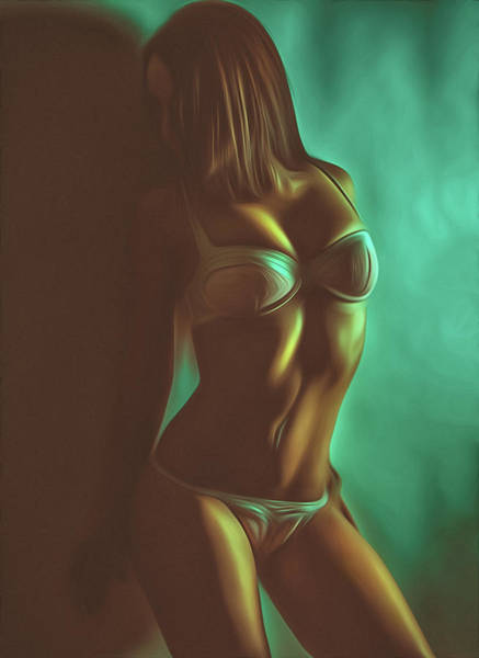 Wall Art - Digital Art - Underwear by Naman Imagery