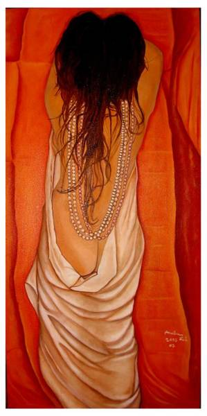 Wall Art - Painting - Undressed For You... by Analua Zoe