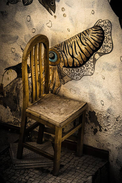 Photograph - Unexpected Chair by Edgar Laureano