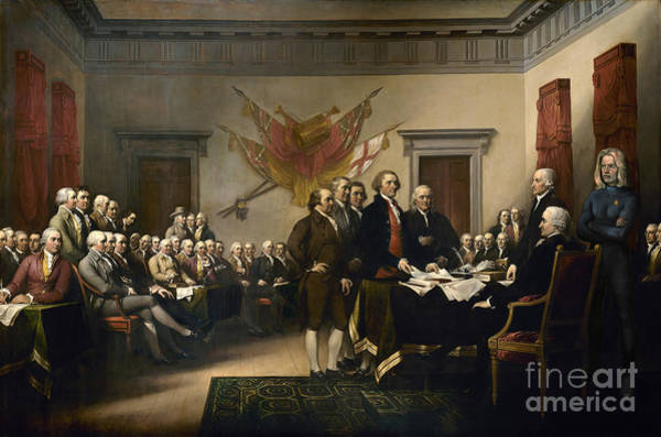 Declaration Of Independence Digital Art - Unexpected Visitor by Close Encounters Gifts