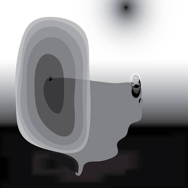 Digital Art - Unfair Spiral by Kevin McLaughlin