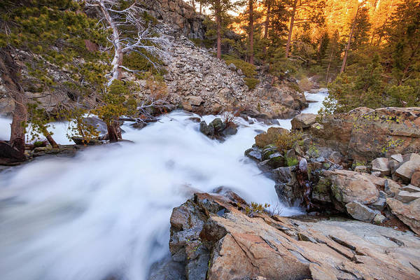 Wall Art - Photograph - Unfamiliar Beauty Of Upper Eagle Falls by Mike Herron