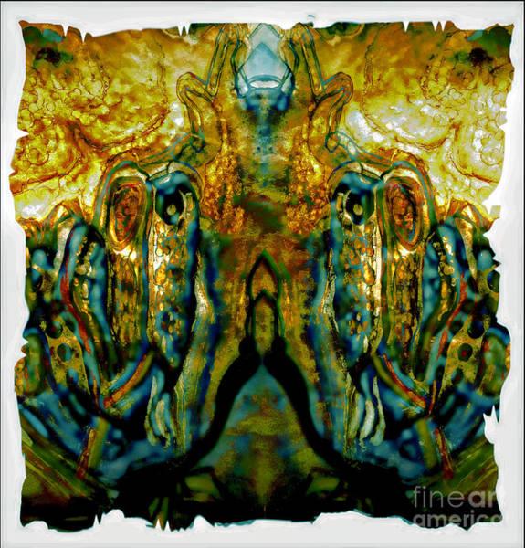 Mixed Media - Unfolding Wings by Jolanta Anna Karolska