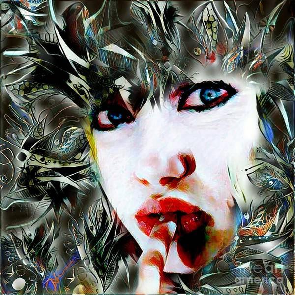 Heartbroken Digital Art - Unforgotten by Diane Holman