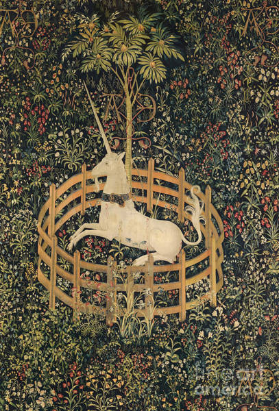 Tapestry - Textile - Unicorn Tapestry by Granger