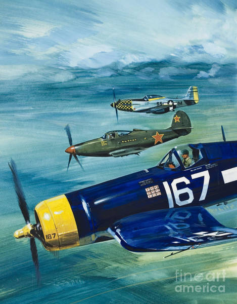 Wall Art - Painting - Unidentified Aircraft by Wilf Hardy