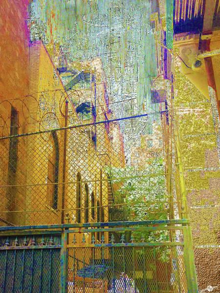 Fence Mixed Media - Uninvited by Tony Rubino