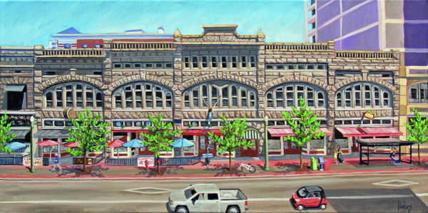 Painting - Union Block Building - Boise by Kevin Hughes