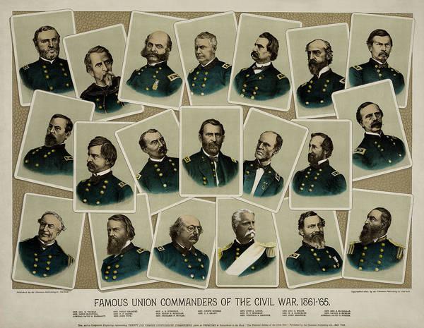 Wall Art - Photograph - Union Commanders Of The Civil War   by Daniel Hagerman