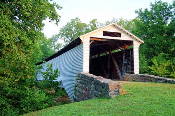 Photograph - Union Covered Bridge by Cricket Hackmann