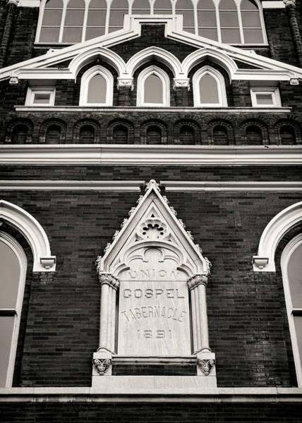 Wall Art - Photograph - Union Gospel Tabernacle - Aka Ryman Auditorium by Stephen Stookey