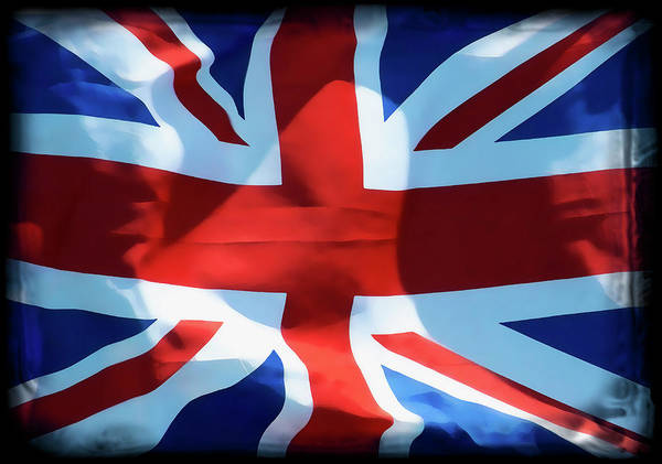 Wall Art - Digital Art - Union Jack by Daniel Hagerman
