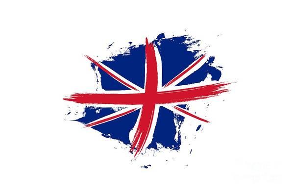 Liverpool Skyline Digital Art -  Union Jack - Flag Of The United Kingdom by Stefano Senise