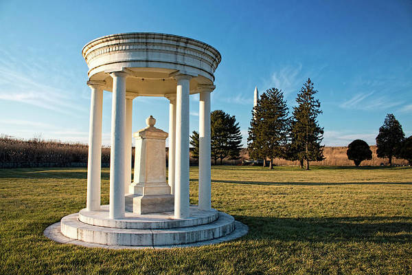 Photograph - Union Monument At Finn's Point National Cemetery by Kristia Adams
