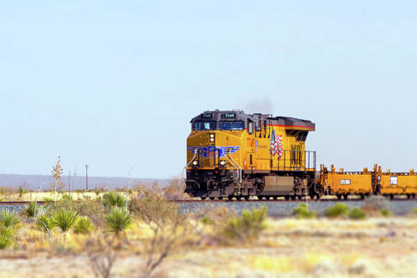 Photograph - Union Pacific 7749 by SR Green