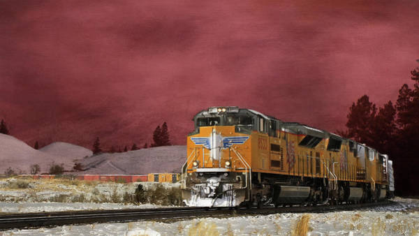 Wall Art - Photograph - Union Pacific 8533 by Donna Kennedy