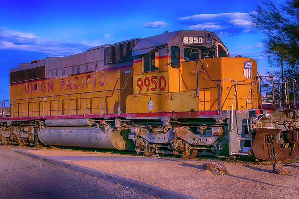 Loco Wall Art - Photograph - Union Pacific 9950 by Garry Gay