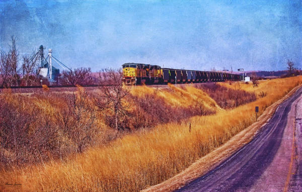 Photograph - Union Pacific Coal Train by Anna Louise