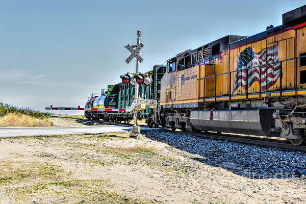Photograph - Union Pacific by Joe Lach