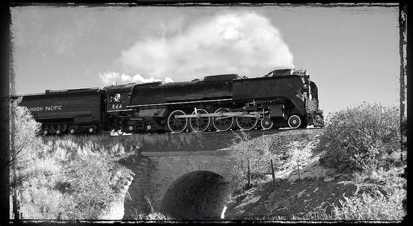 Union Pacific Railroad Wall Art - Photograph - Union Pacific Number 844 by Larry McManus