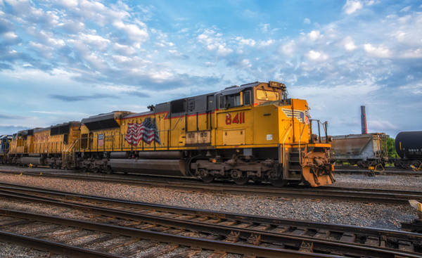 Wall Art - Photograph - Union Pacific Railroad by Mark Papke
