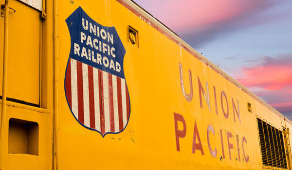 Photograph - Union Pacific Railroad by TL Mair