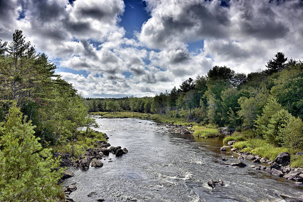 Wall Art - Photograph - Union River Near Ellsworth - Maine by Brendan Reals