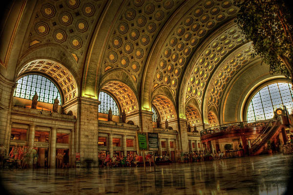 D.c Photograph - Union Station - Dc by Frank Garciarubio