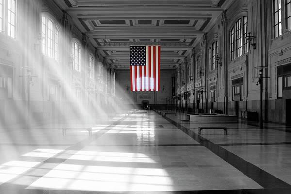 Wall Art - Photograph - Union Station 2 - Kansas City by Mike McGlothlen